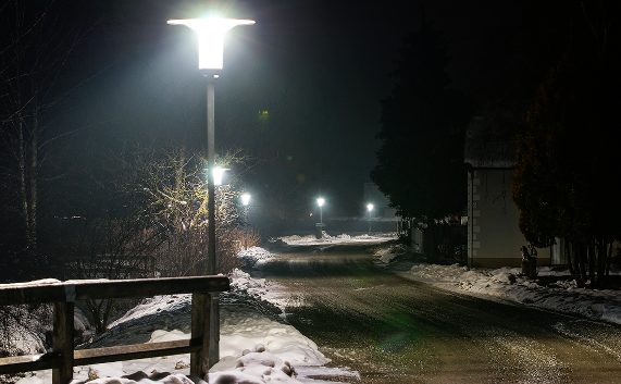 """Hut Cap"" - dekorative LED - Straßenleuchte 